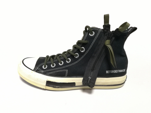 High-top Canvas Vulcanized Black skateboard shoes