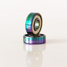 Kingsk8™ King of Spades Colorful Titanium Skateboard Bearings