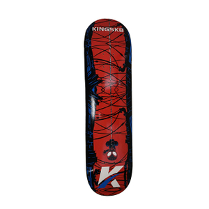 "Kingsk8 Custom Graphic Print 8.25"" Skateboard Deck"